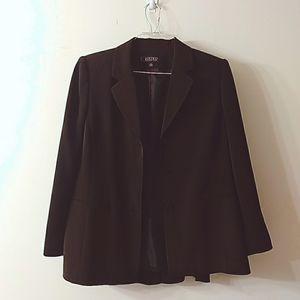 Kasper 3 Piece Suit in Brown, Size 12P